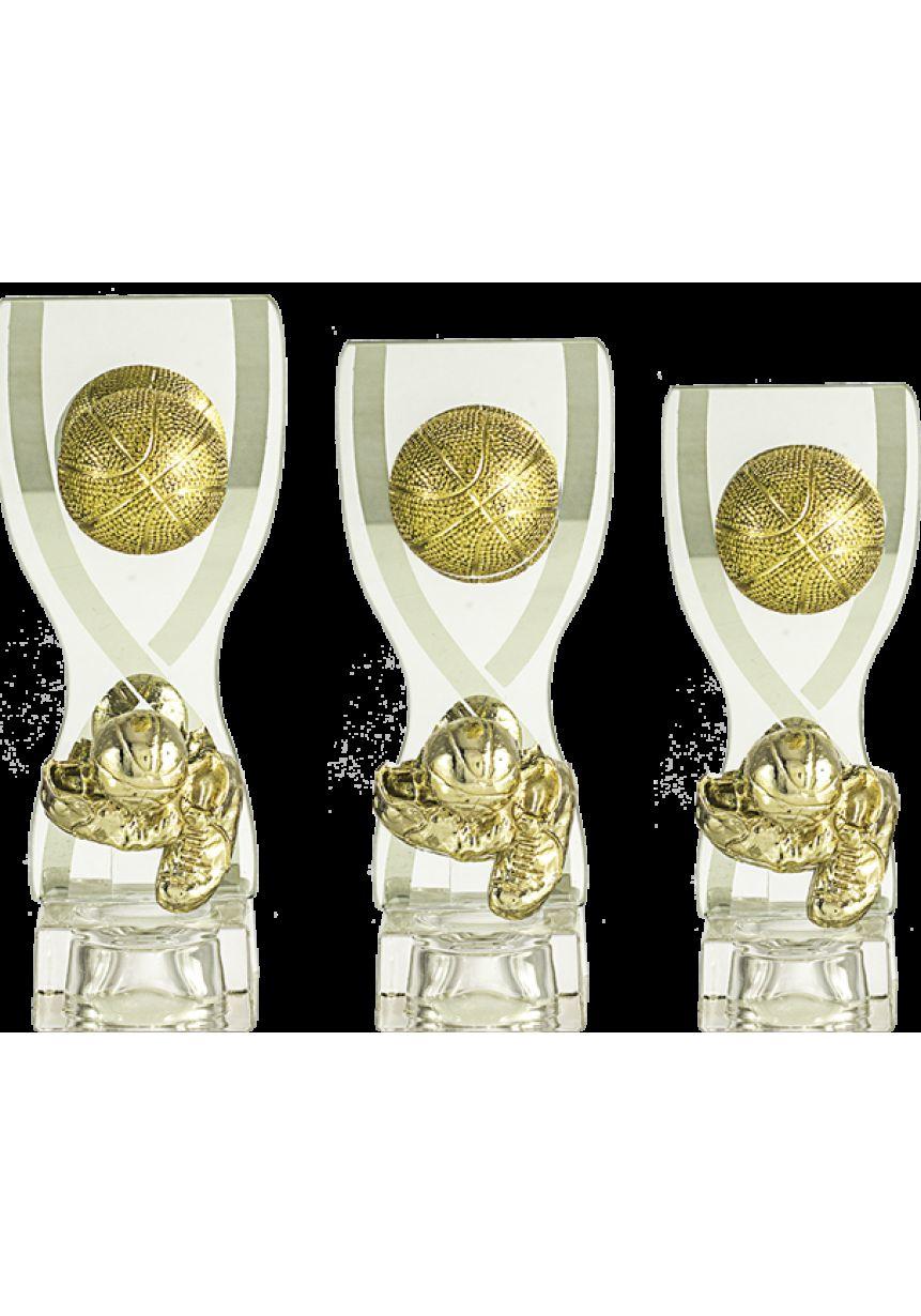 Trofeo cristal copa deportiva baloncesto