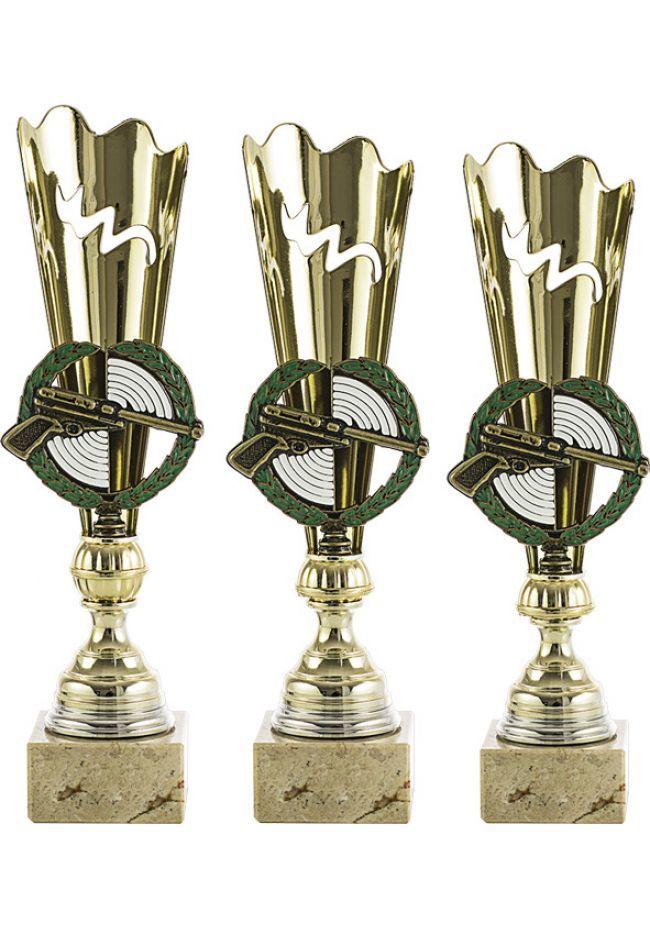 Trofeo con aplique de Tiro