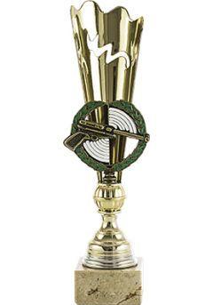 Trofeo con aplique de Tiro Thumb