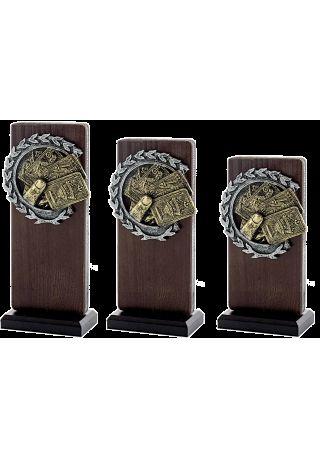 Trofeo Madera/Resina Cartas
