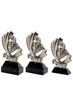 Trofeo resina silueta de billar Thumb