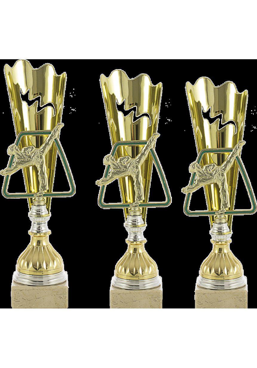 Trofeo con aplique de karate