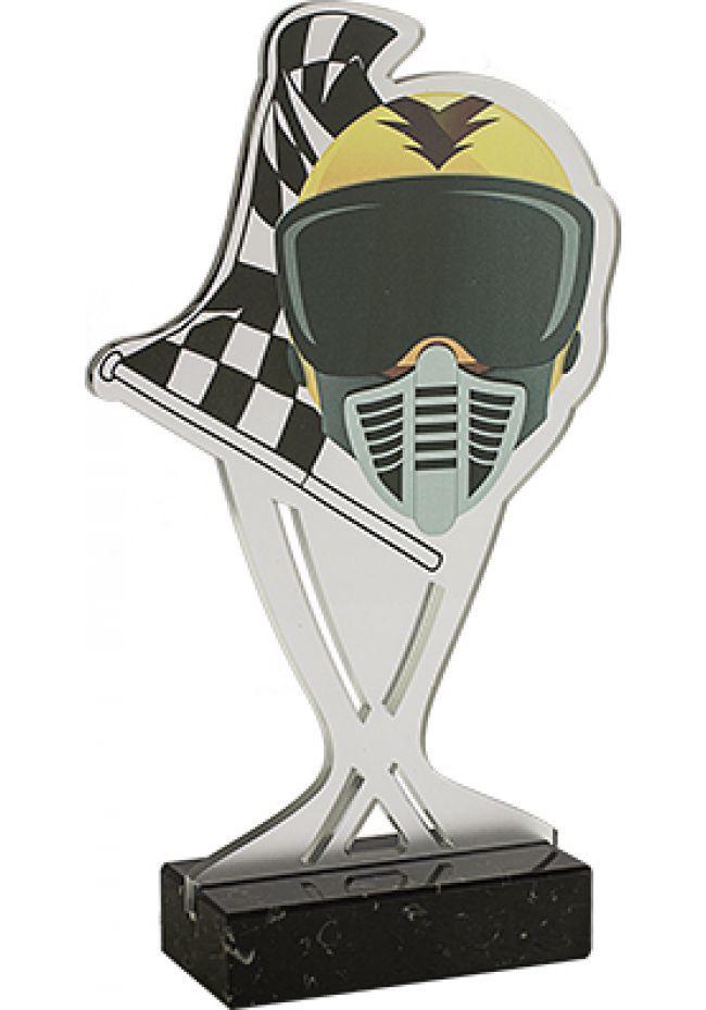 Trofeo del motor metacrilato