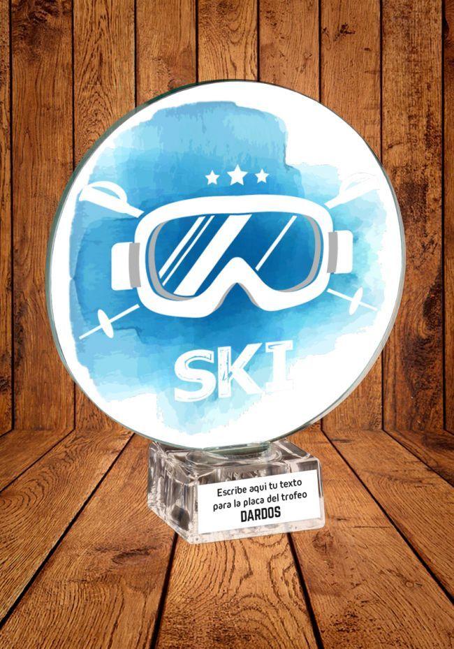 Trofeo de cristal para Ski