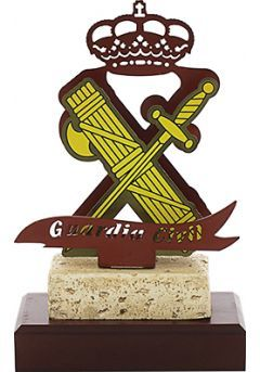 Trofeo Metal Guardia Civil