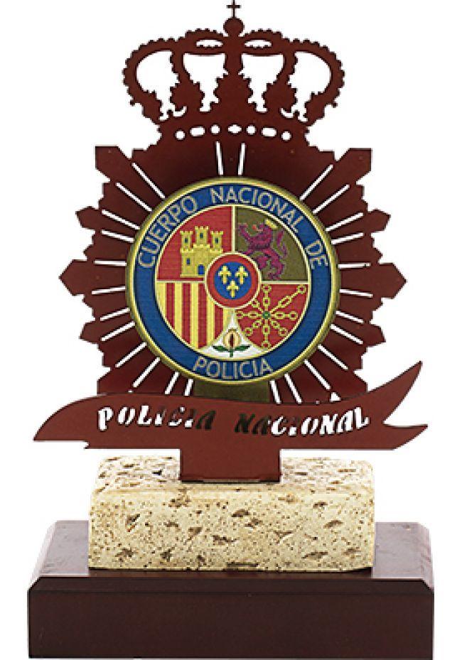 Trofeo Metal Policia Nacional