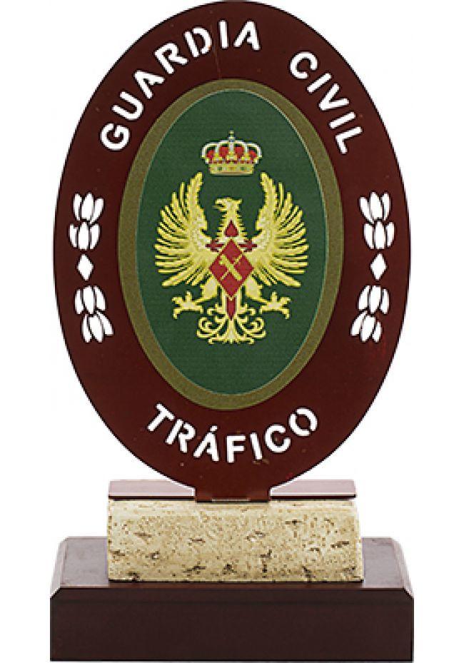 Trofeo Metal Guardia Civil de Tráfico