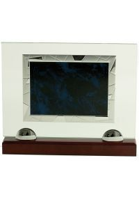 Placa Homenaje Cristal/Placa azul