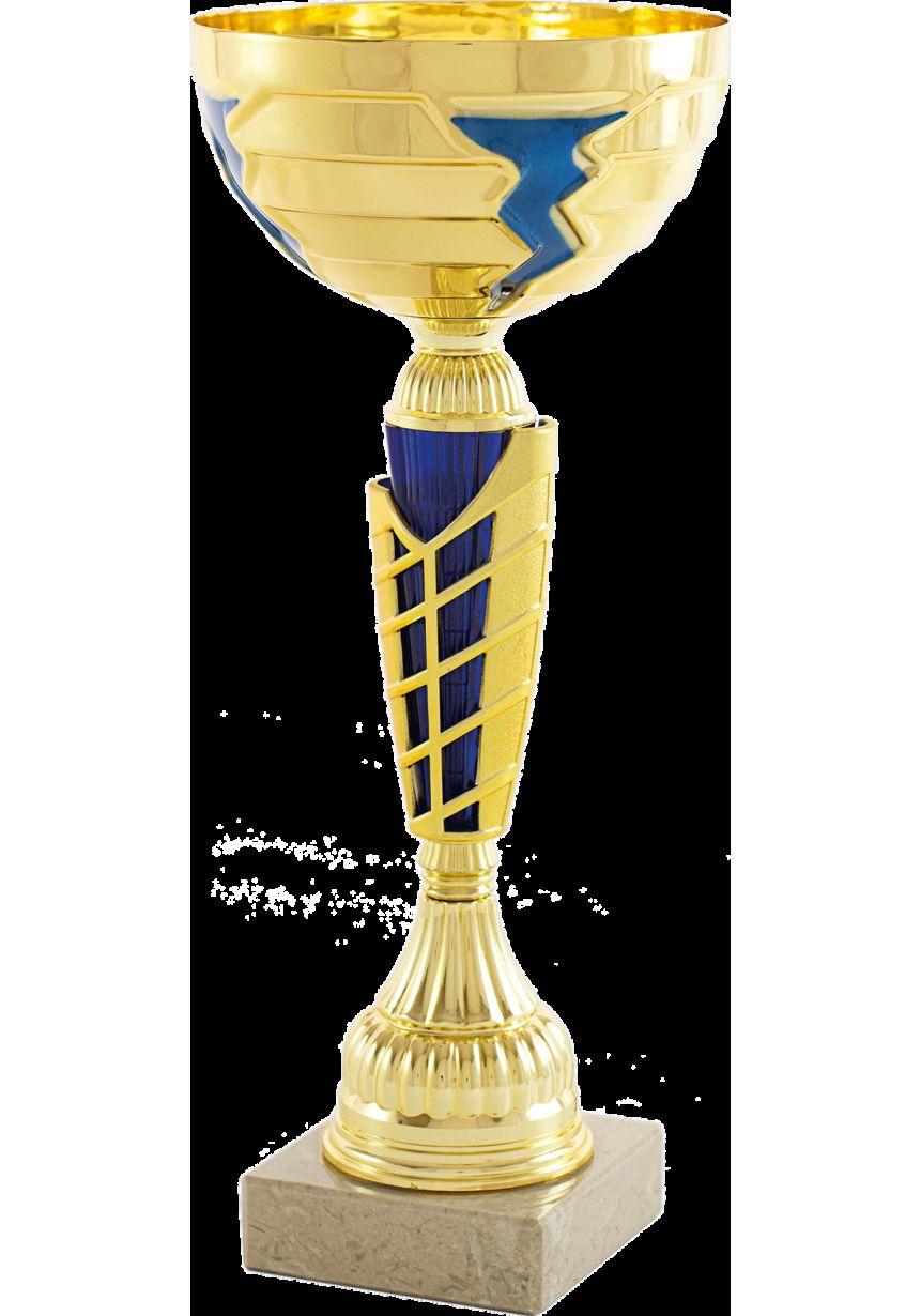 Copa Balón Azul Cobalto / Dorado