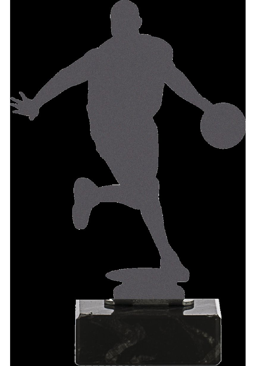 Basketball Trophy made in metal
