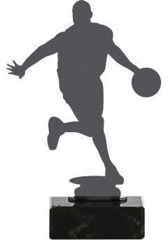 Trofeo de Baloncesto realizado en metal