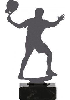 Trofeo de Pádel realizado en metal