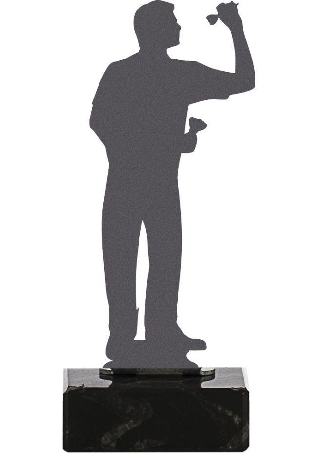 Trofeo de Dardos realizado en metal
