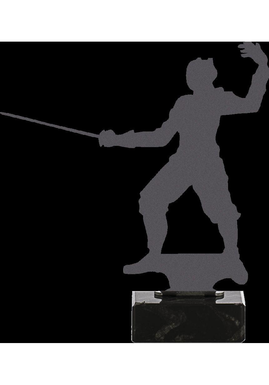 Trofeo de Esgrima realizado en metal