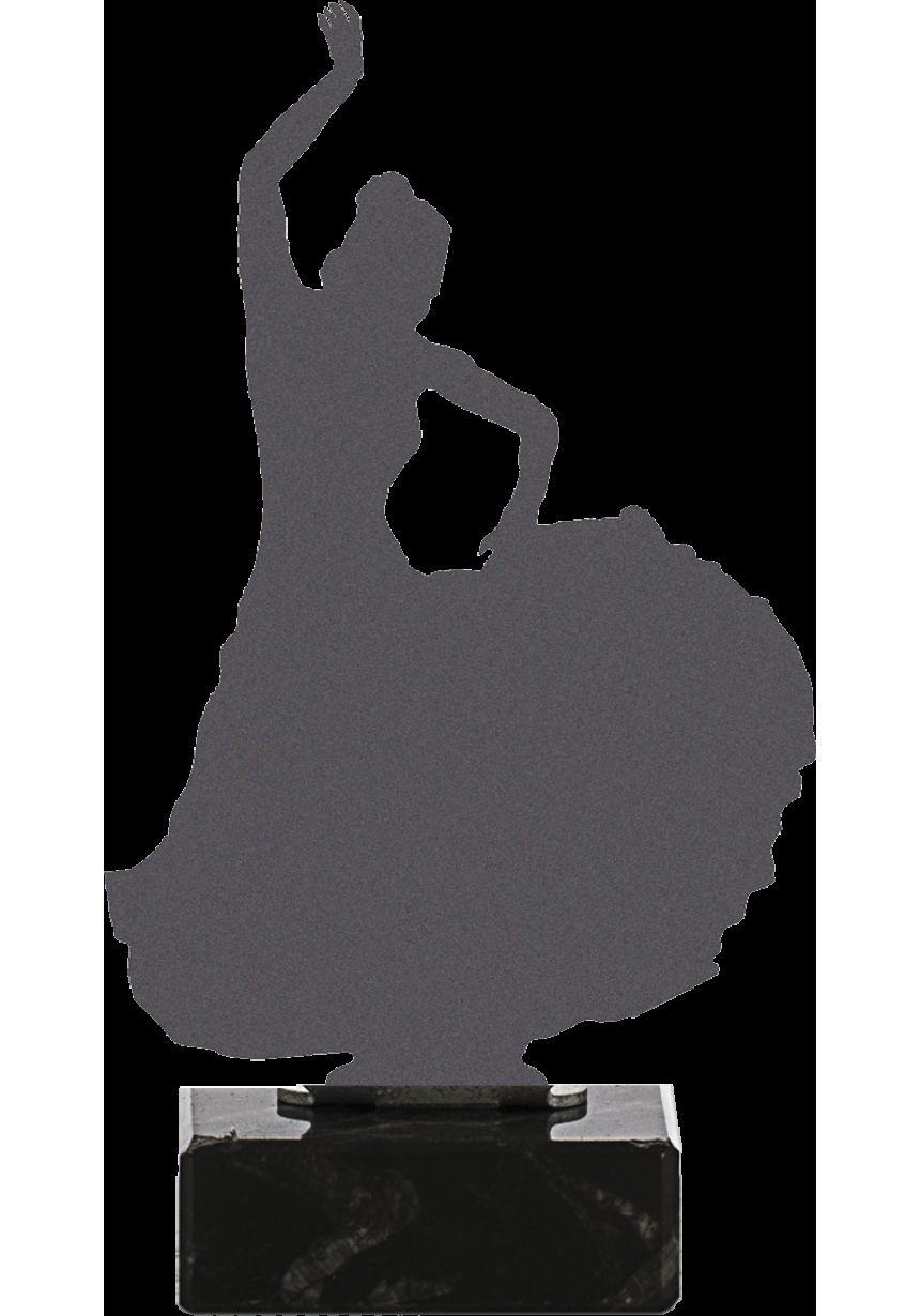 Trofeo de una Sevillana realizado en metal