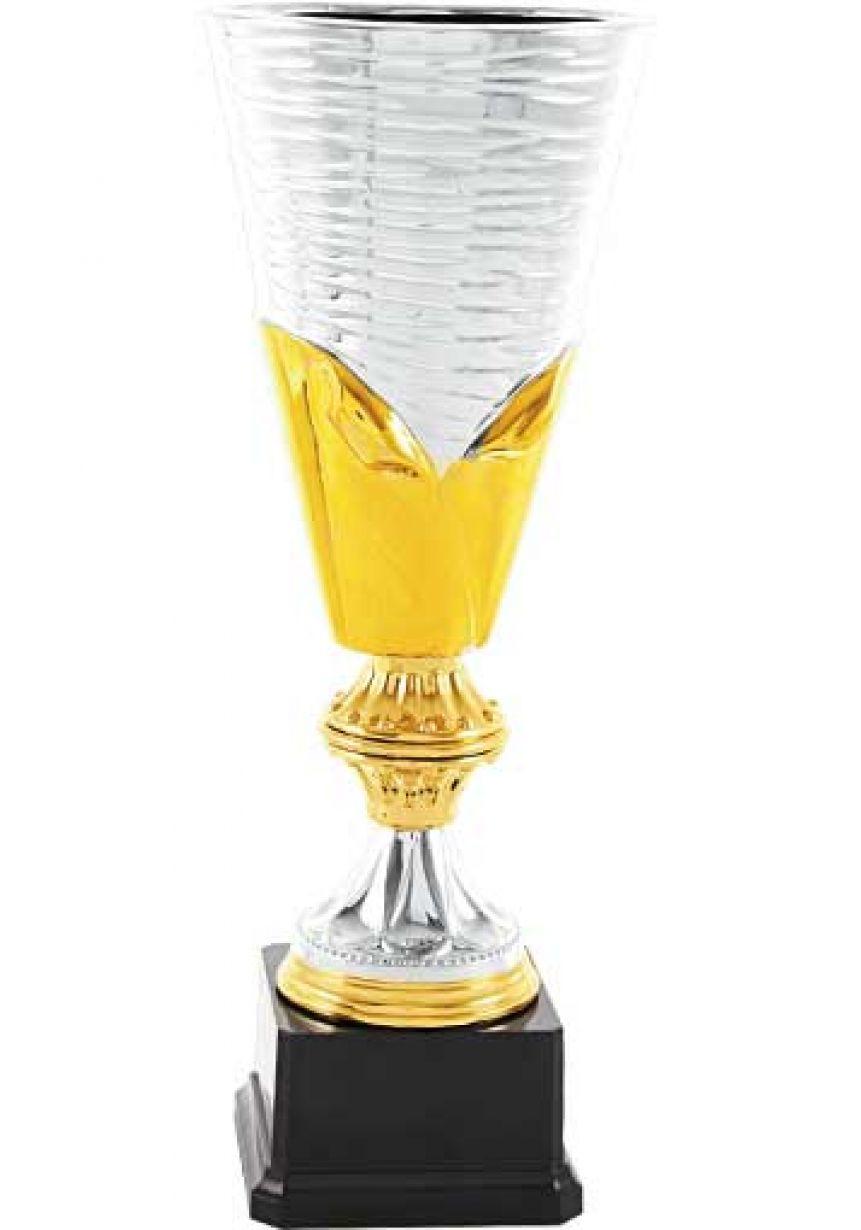 Trofeo jarrón cerámico  bicolor
