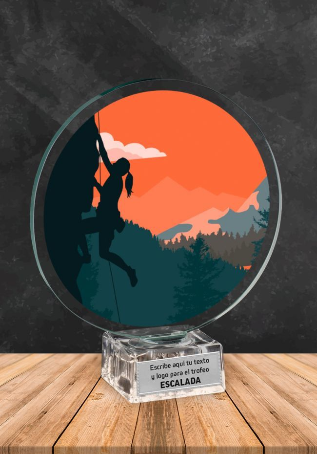 Trofeo de cristal para Escalada