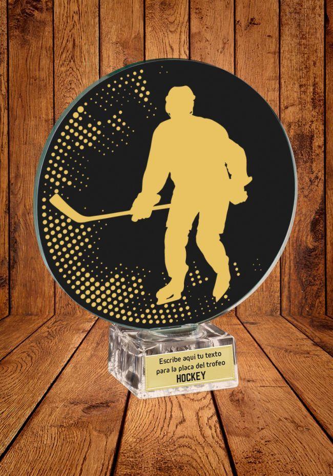 Trofeo de cristal para Hockey