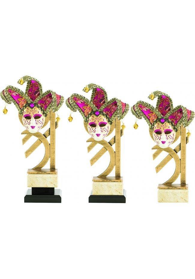 Trofeo Resina Aplique Máscara