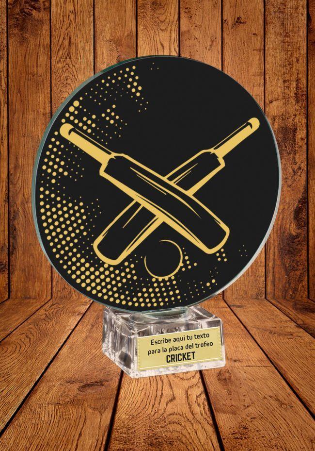 Trofeo de cristal para Cricket