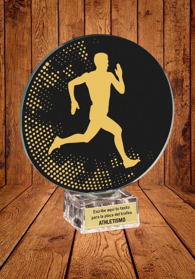 Trofeo de cristal para Atletismo