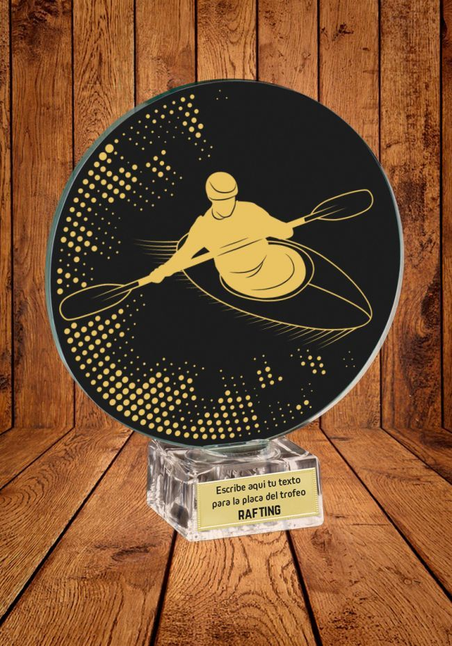 Trofeo de cristal para Rafting