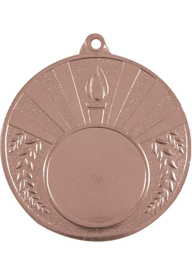 Medalla 50 mm de diámetro Antorcha Portadisco