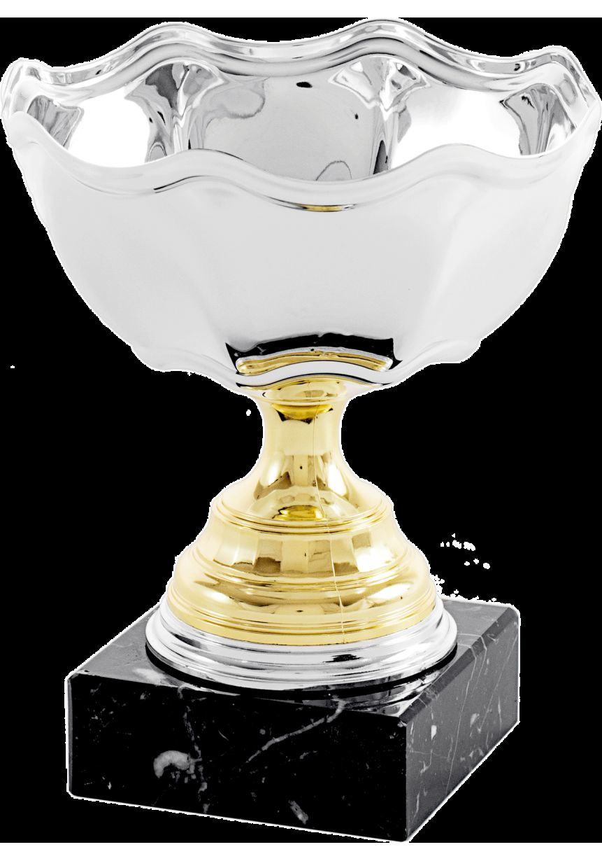Trofeo copa ensaladera flor