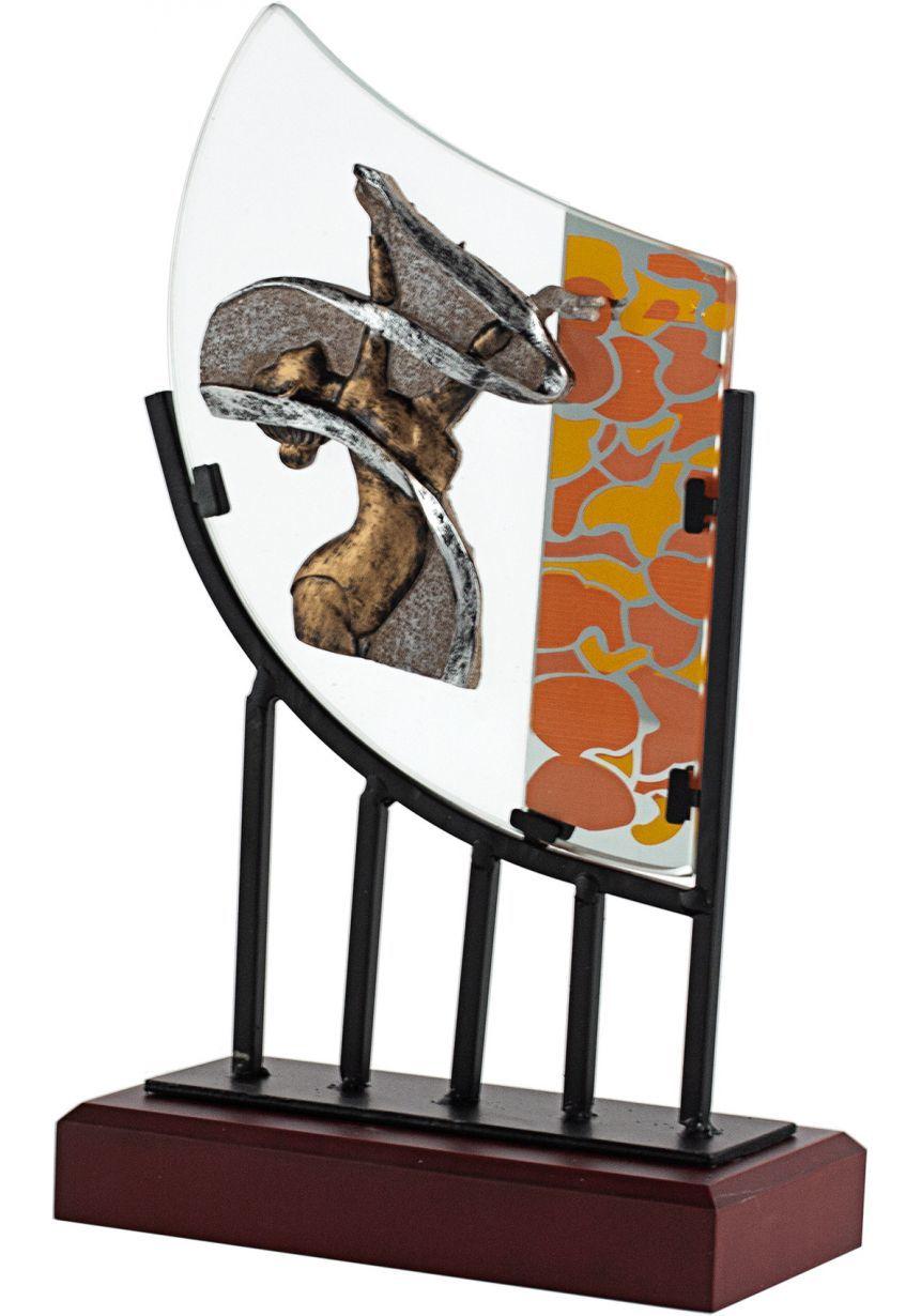 Glass Trophy for Rhythmic Gymnastics