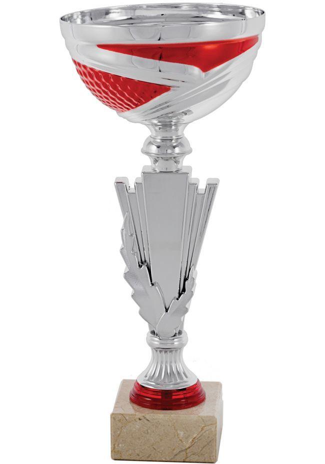Trofeo Columna Detalle Rojo