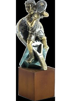trofeo de padel en metalmadera 14