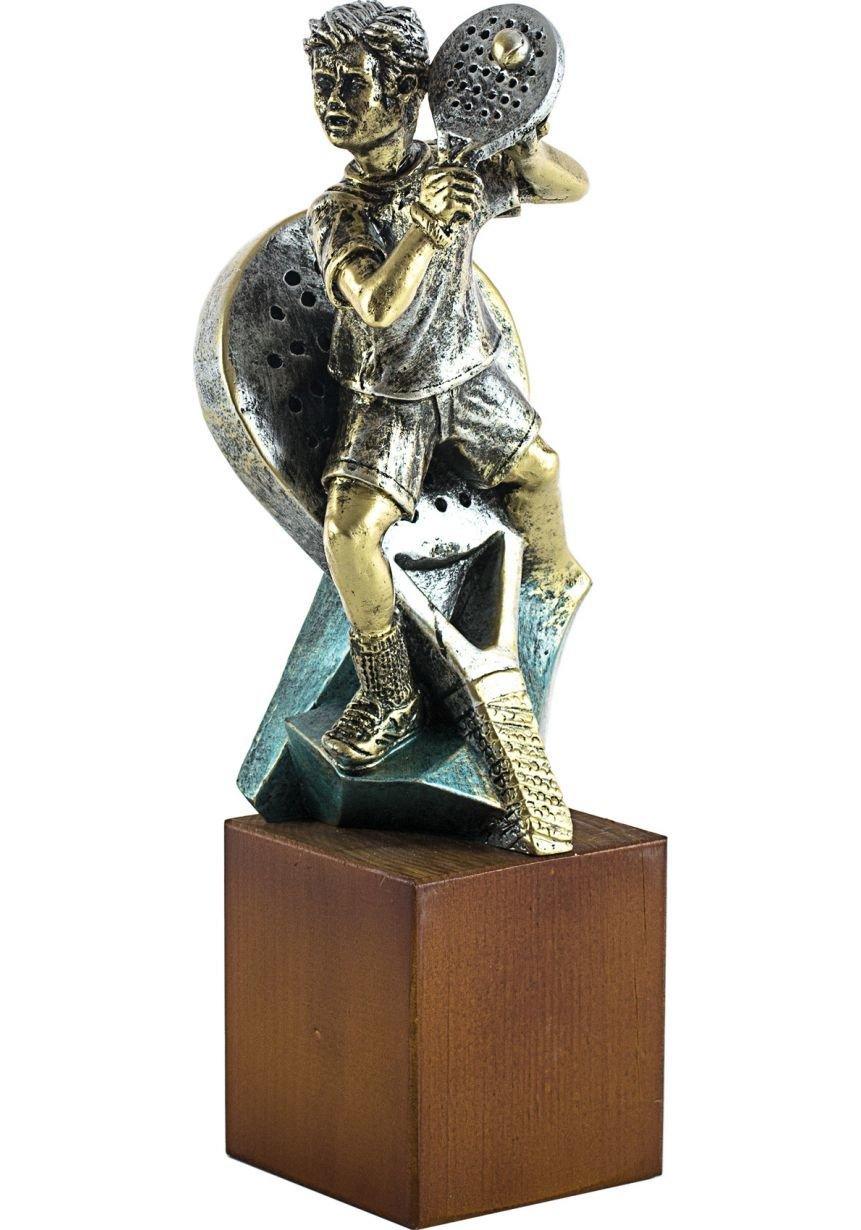 Trofeo de Pádel Jugador resina