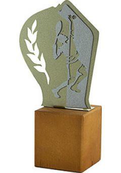 Trofeo de Tenis en Metal/Madera  Thumb