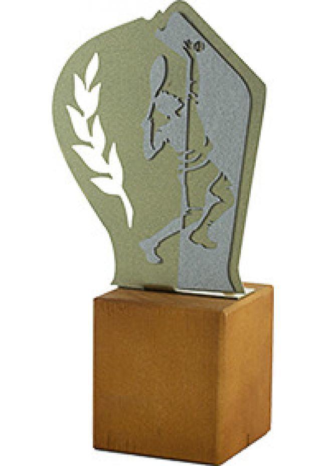 Trofeo de Tenis en Metal/Madera