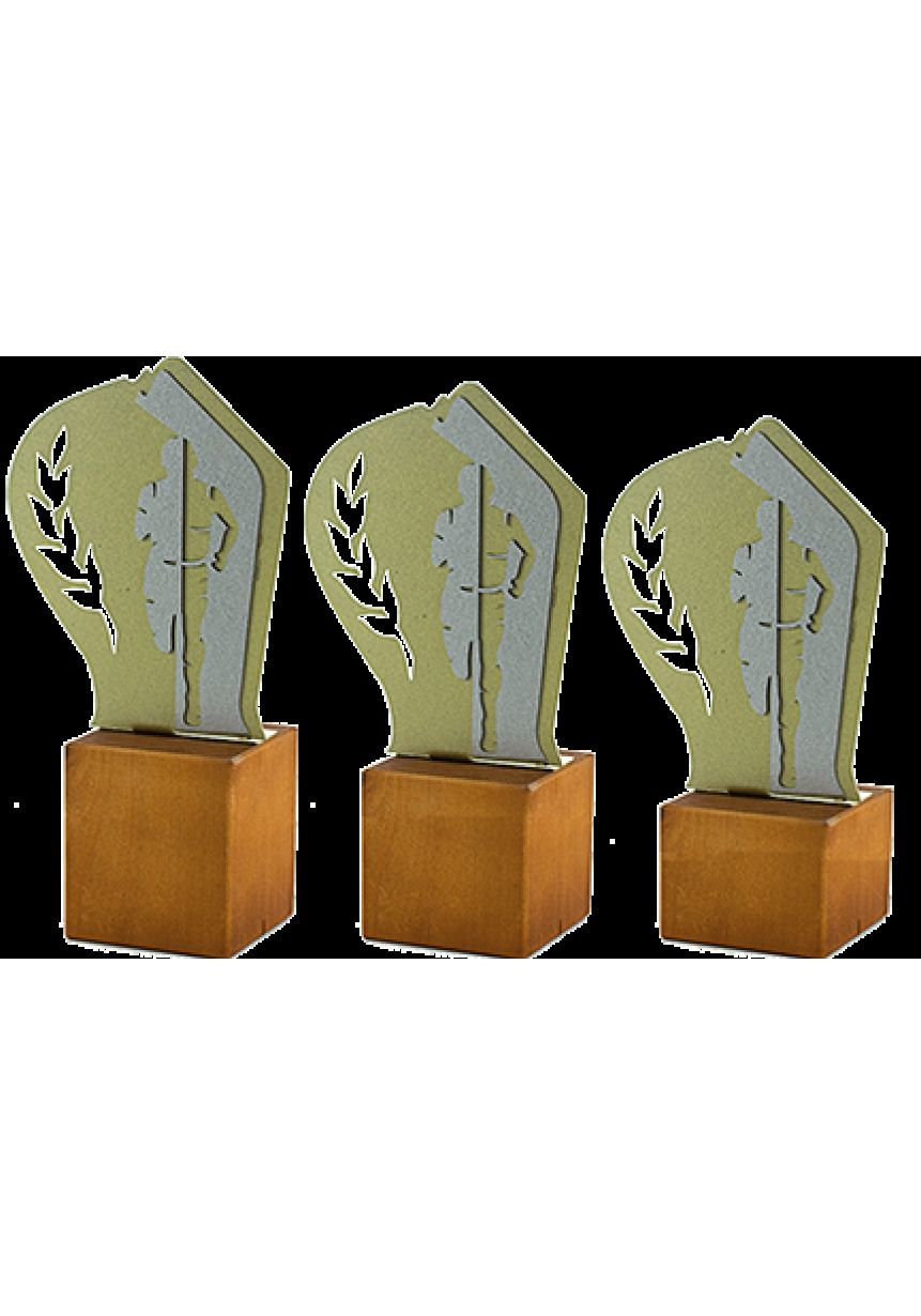 Metal/Wood Cross Trophy