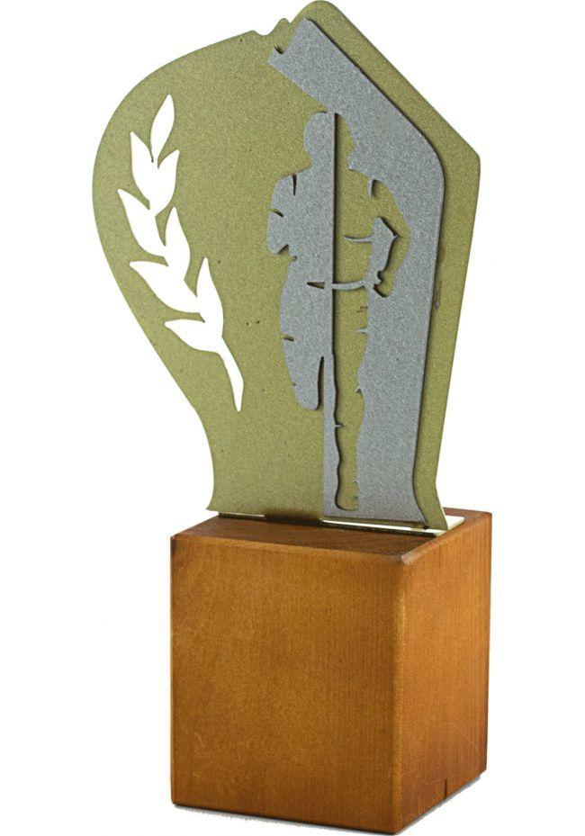 Trofeo de Cross en Metal/Madera Hombre