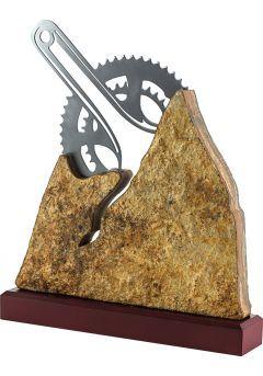 Trofeo Metal/Piedra con Biela-1
