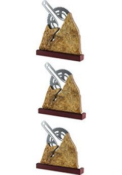 Trofeo Metal/Piedra con Biela Thumb