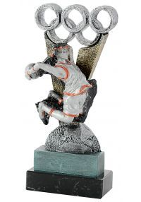 Trofeo de Baloncesto en Resina