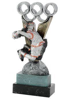 Trofeo de Baloncesto en Resina Thumb