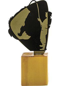Trofeo de Pesca en Metal/Madera  Thumb