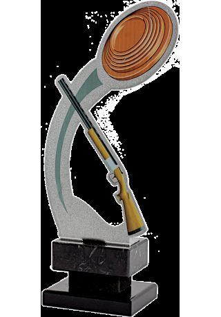 Trofeo de Tiro en Metal