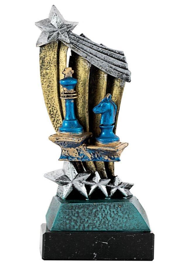 Trofeo Resina Estrella Ajedrez