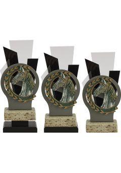 Trofeo Metal y Metacrilato Aplique Caballo Thumb