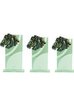 Trofeo Cristal Aplique Caballo Thumb