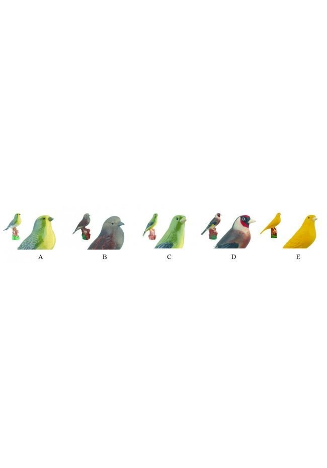 Trofeo Cono Aplique Pájaro