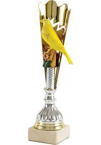 Trofeo Cono Aplique Pájaro-2