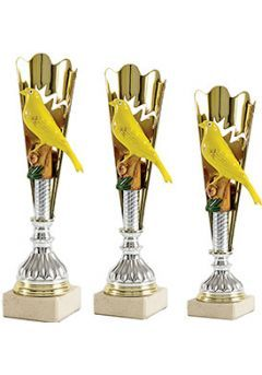 Trofeo Cono Aplique Pájaro Thumb