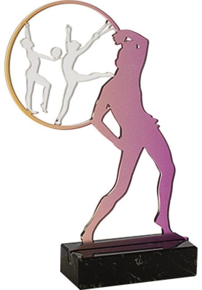 Trofeo Metacrilato Gimnasia Rítmica