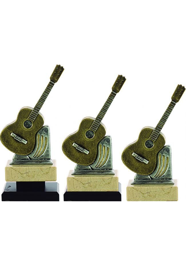 Trofeo Resina Guitarra Clásica